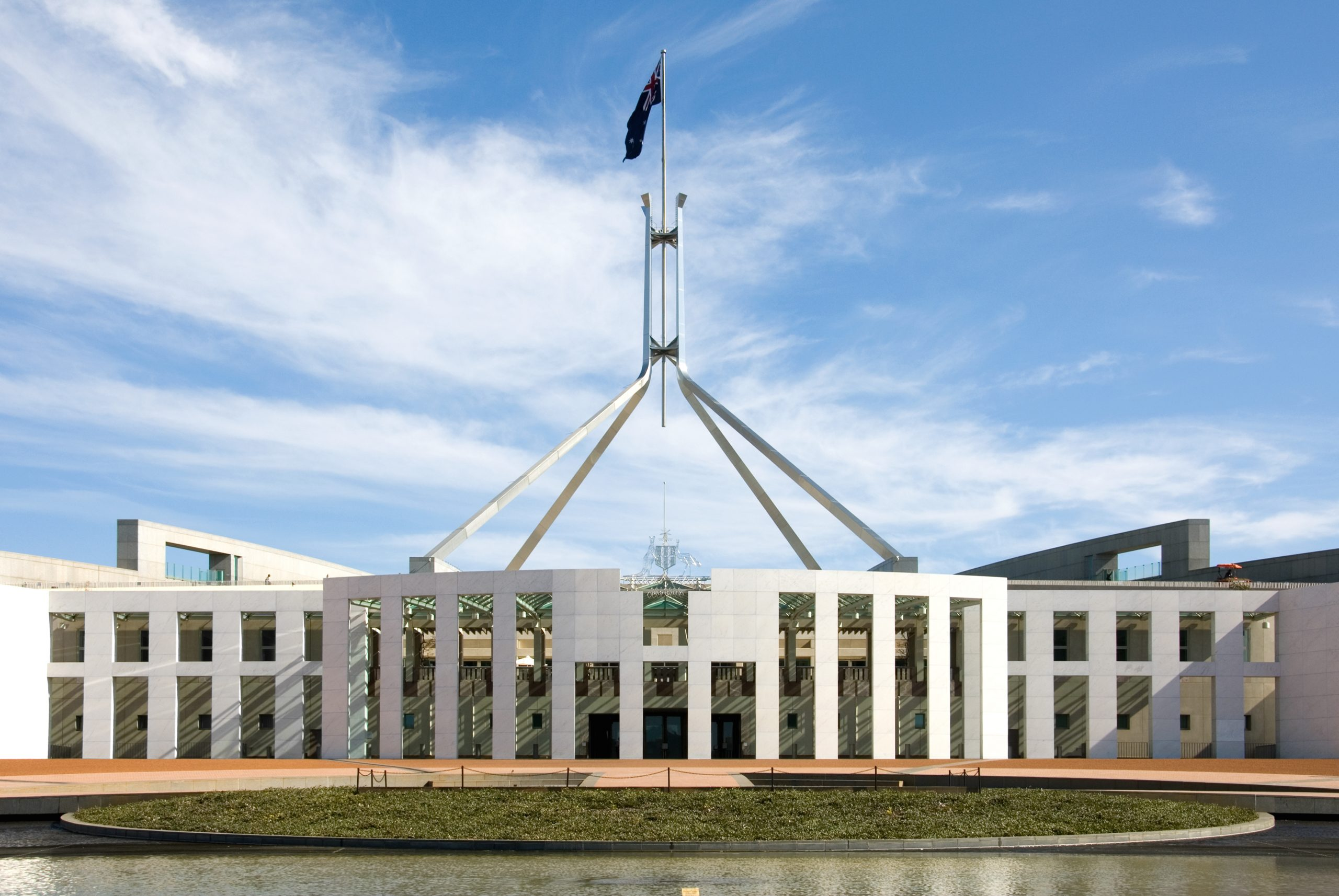 parliament house in canberra, 2020 federal budget